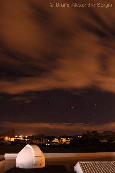 Observatório Astronómico de Santana - Açores | Observação céu noturno | Astronomia | Espaço