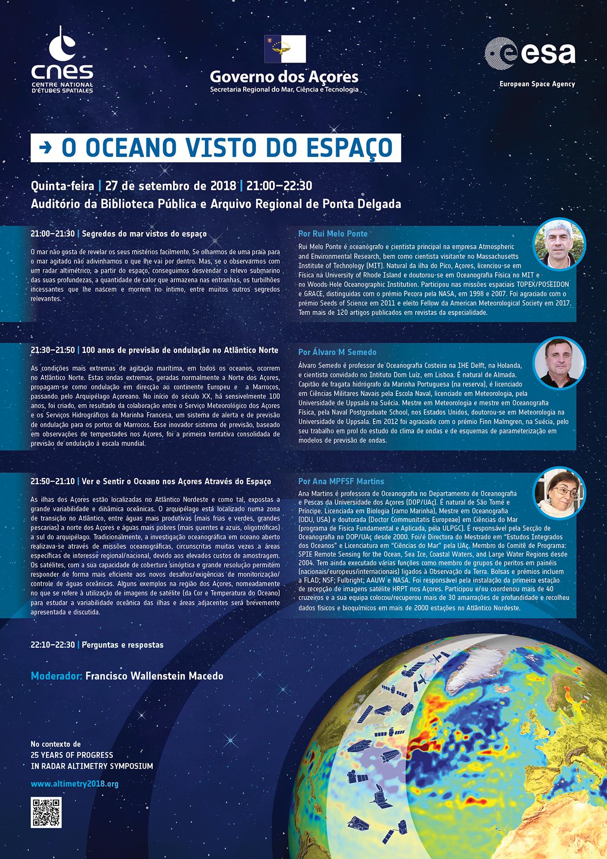 O Oceano visto do espaço