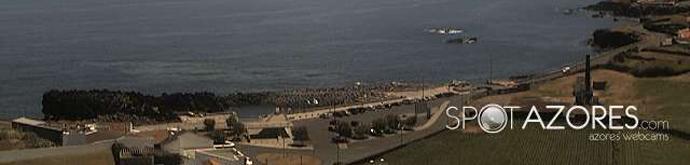 Carregue para ver como estão as condições meteorológicas, agora, na praia das milícias