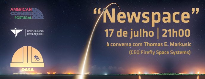 """Newspace"" com Thomas Markusic"