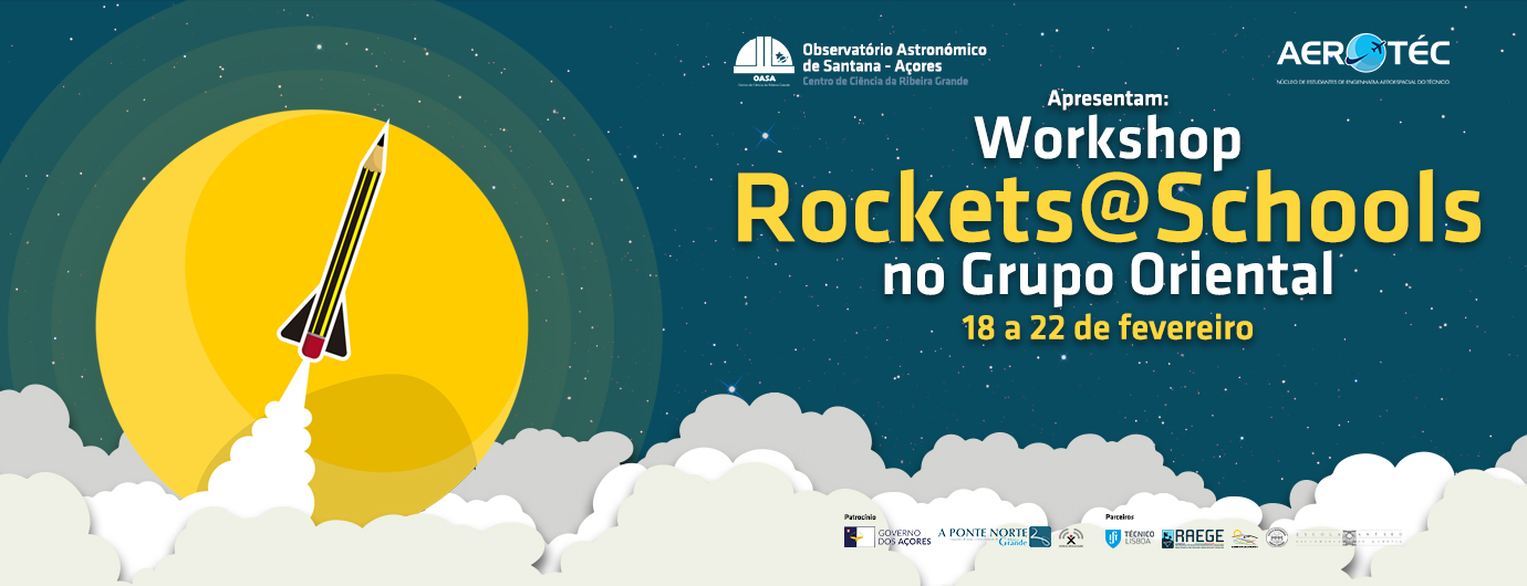 Workshop Rockets@Schools no Grupo Oriental