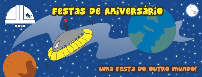 Festas de Aniversário no OASA
