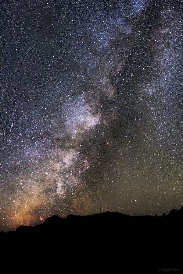 La Palma Sky - An Impressive Deep View of Milky Way, por Miguel Claro