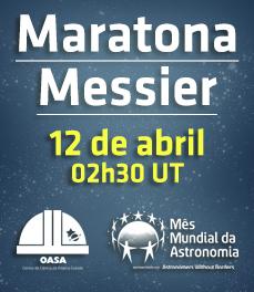 Maratona Messier | Transmissões Online | Mês Mundial da Astronomia