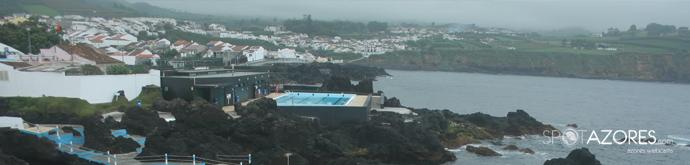 Veja como estão as condições meteorológicas nas Piscinas da Lagoa, agora.