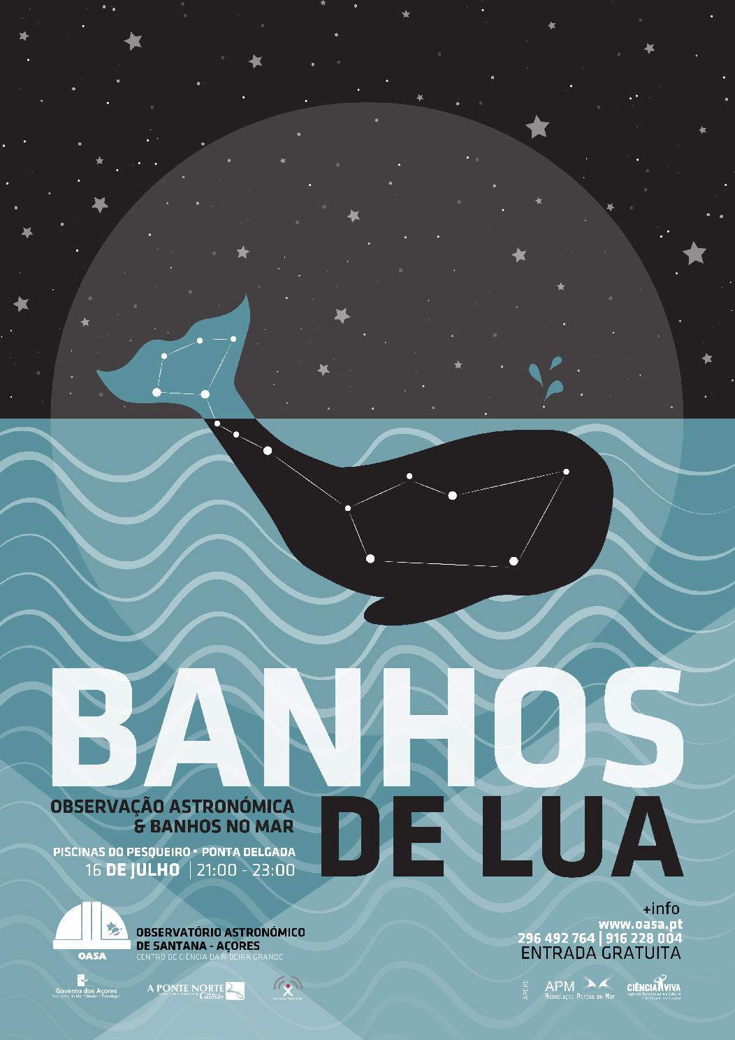 Banhos de Lua | Piscinas do Pesqueiro | Ponta Delgada